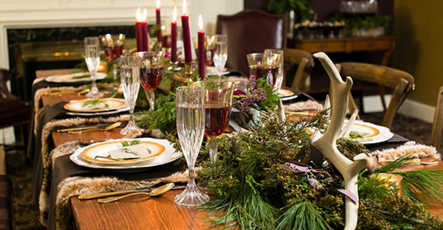 top trends in special event tabletop design | Special Events