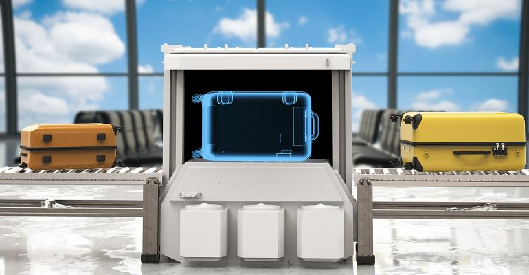Airport Luggage Scanner