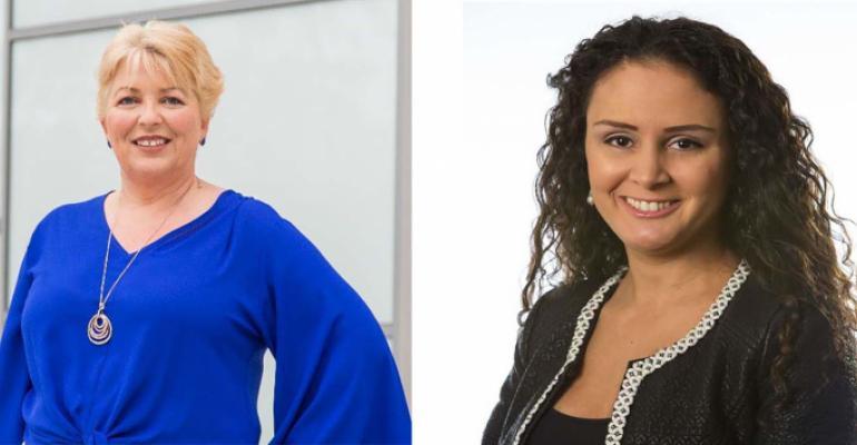 Cherryl Brazier and Patricia Perez-Sahin
