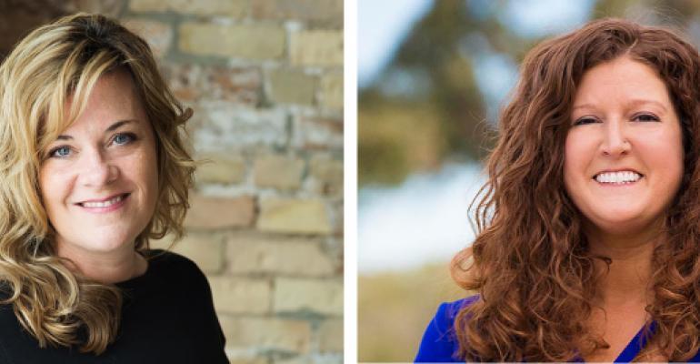 Jennifer Carlson (left) and Jennifer Selley join 360 Destination Group.