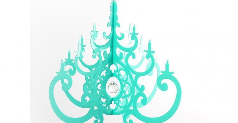 NK acrylic chandelier