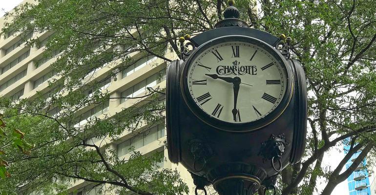 Charlotte N.C. clock