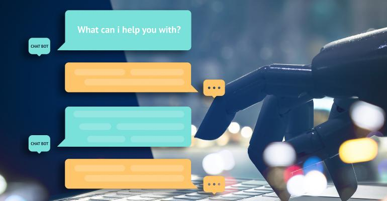 Chatbot talking online