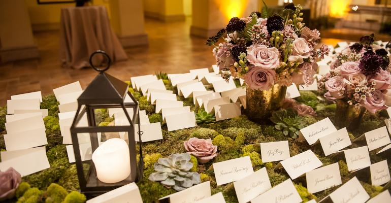 Nature-inspired gala design