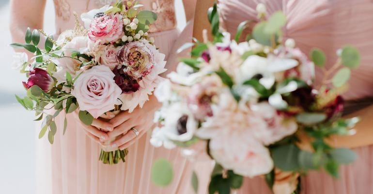 wedding bouquets from Emerald City Designs
