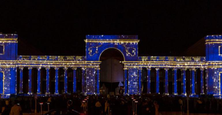 Video mapping Legion of Honor