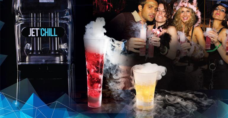 JetChill dry ice cocktail system