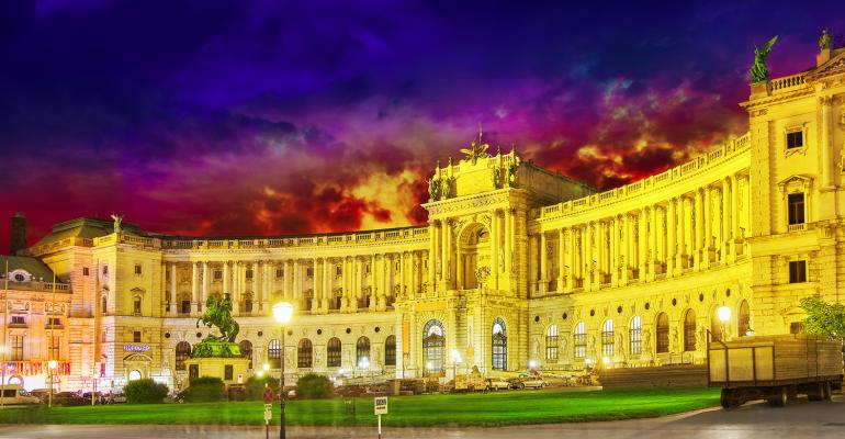Hofburg Palace event from Kuoni
