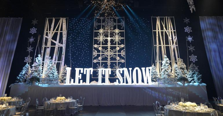 Decor And More Creates A Winter Wonderland Theme Special