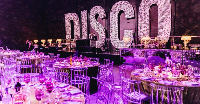Disco dining room