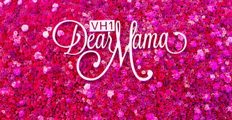 Floral wall for VH1 Dear Mama show