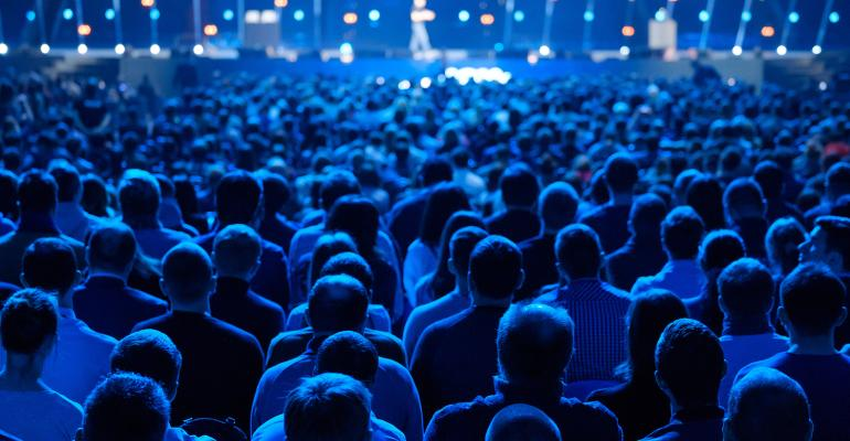 Attendees at meeting