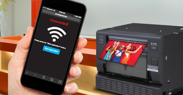 Mitsubishi phone printer