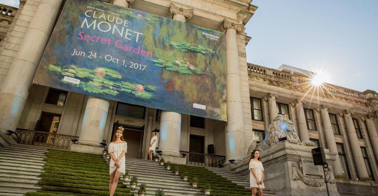 Monet Garden fundraiser