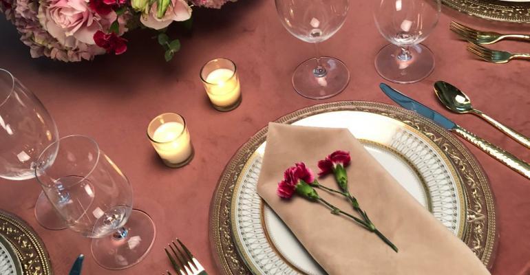 Velvet Rose from Over the Top Rental Linens