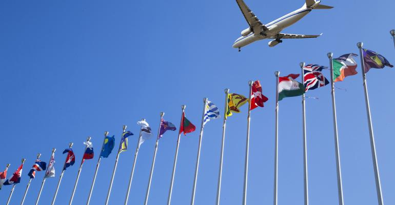 Plane to many nations