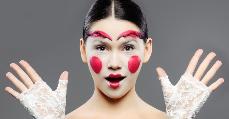 Pretty mime