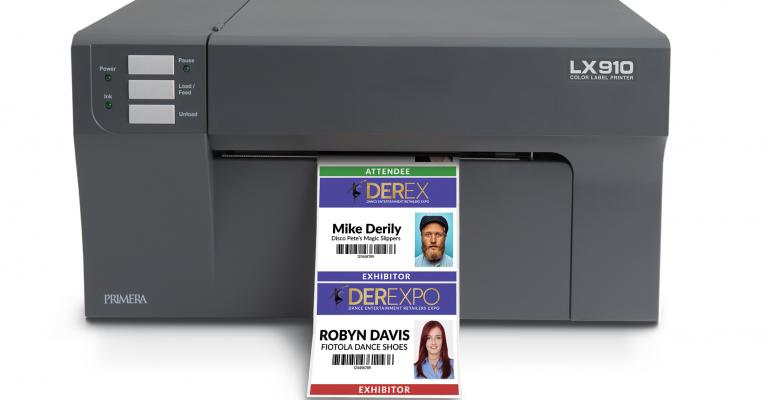 Primera badge printer