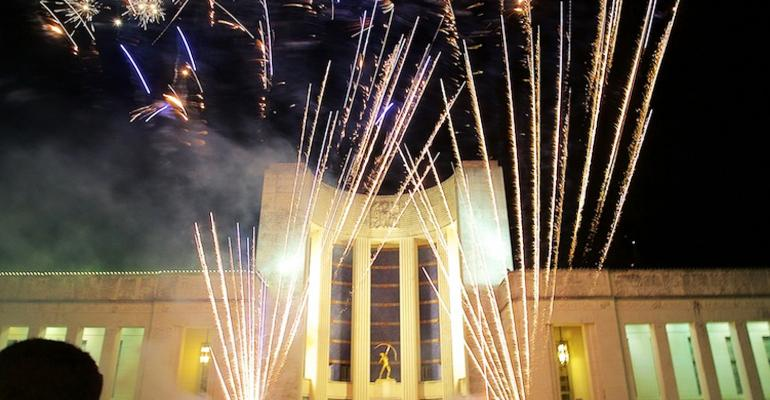 Fireworks  at Fair Park