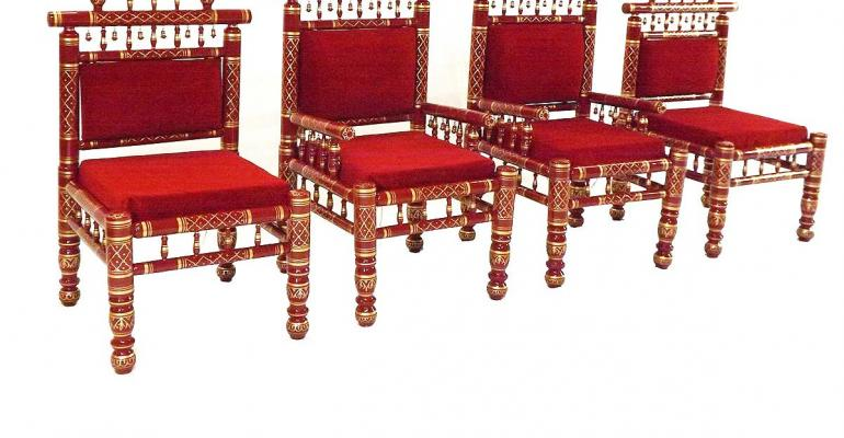 Raj Tents Wedding Throne Chairs
