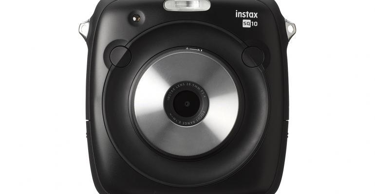Instax hybrid camera