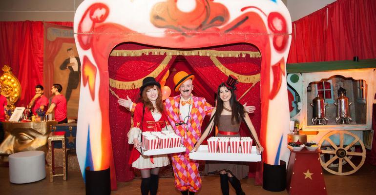 Circus bat mitzvah