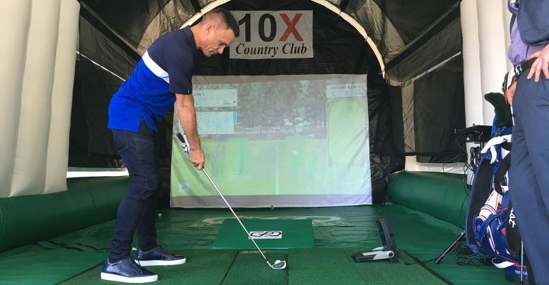 Golf Pro at Shark Tank
