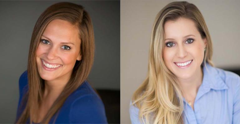 Riley Sharp and Erin Dugan