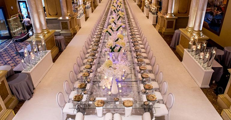 The Venetian Palazzo And Dbd Dream Up A Heavenly Dinner