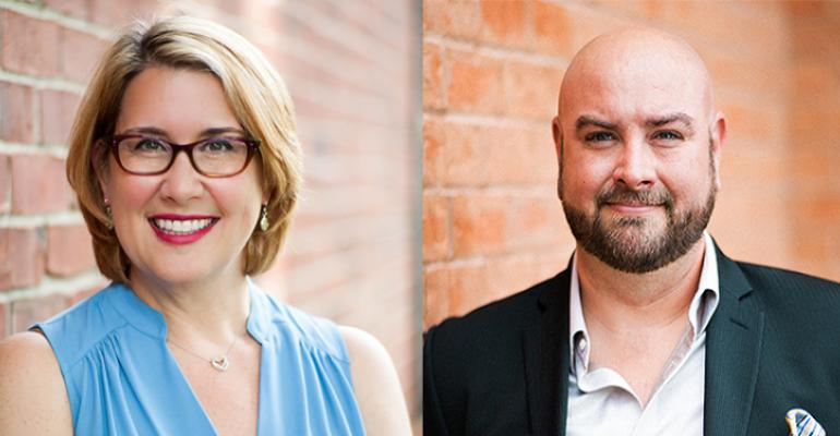Leah Taylor and Justin Maddox of LEO Events