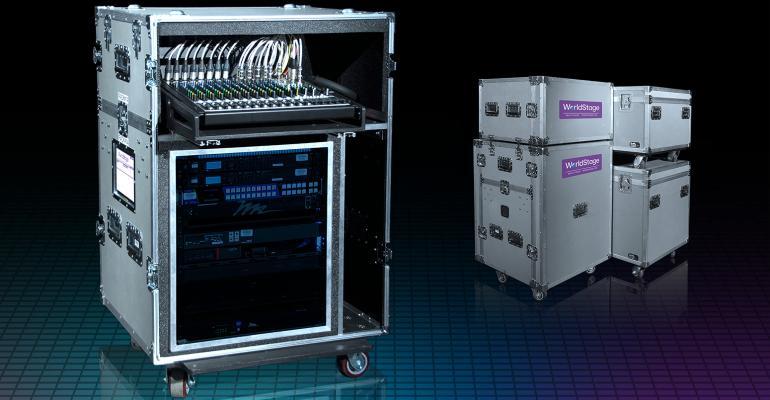WorldStage Sx3 AV setup