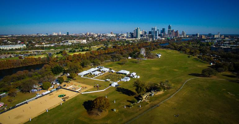 Zilker Park in Austin, Texas