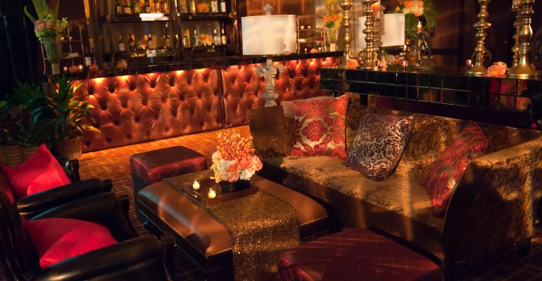 Stylish Send-off: Underwood Events and Kehoe Designs Create an Elegant Lounge for a Closing Event