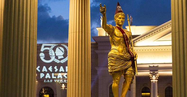 Caesars celebrates its 50th anniversary