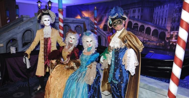 Very Venetian: Incredible Artists Creates an Incredible Masked Ball