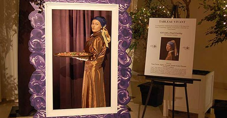 Art a la Carte: A Divine Event Shows the Art of Catering