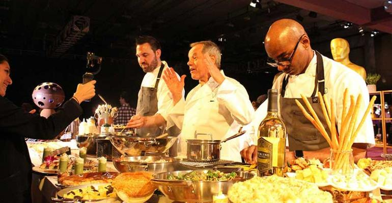 Wolfgang Puck previews the 2016 Oscar menu