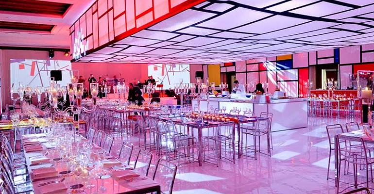 Mondrian Mitzvah: MB Events and Shadow Design Dream up a Color Block Celebration