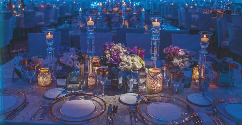 Filled with Floral: Designs by Sean Uses 21,000 Flowers for a Fantasy Wedding