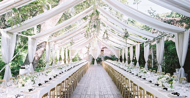 Outdoor wedding from Kristin Banta