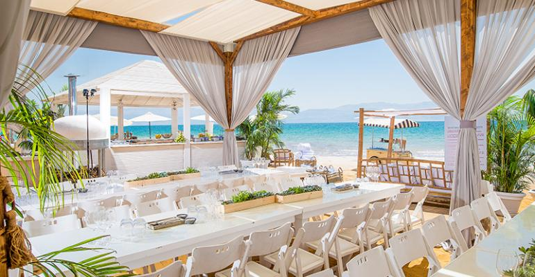 Lively Dead Sea Party: KBY Designs Puts a Pretty Party on the Shore of the Dead Sea