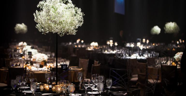 Metal Magic: Vangard Events Uses a Chic Metallic Palette at the Dreambuilders' Ball 2013