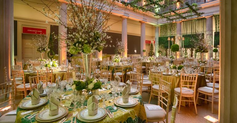 Artful Evening: Occasions Caterers Cooks up the 59th Corcoran Ball