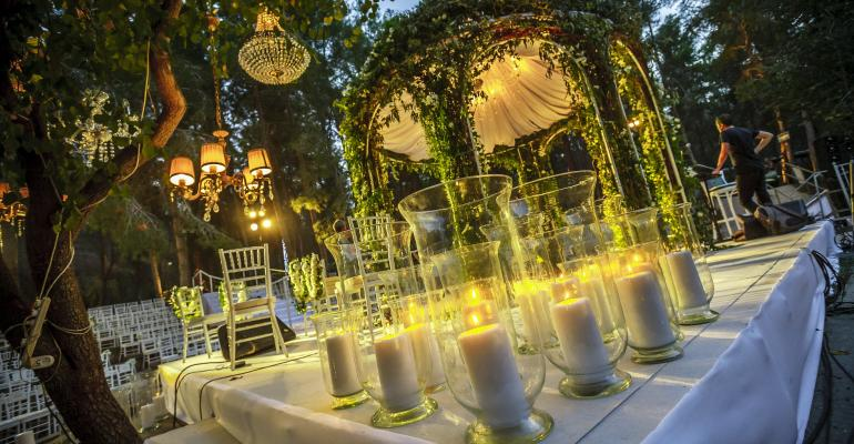Outdoor Wedding: KBY Designs Transforms a Landscape Reserve into a Wedding Setting
