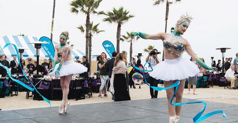 Dancing sea princesses
