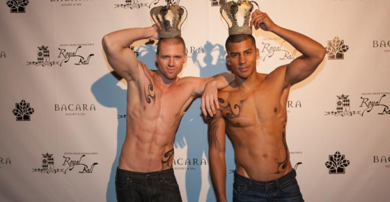 Back at the Ball: Merryl Brown Gives the Pacific Pride Foundation's Second Royal Ball a Sexy Spin