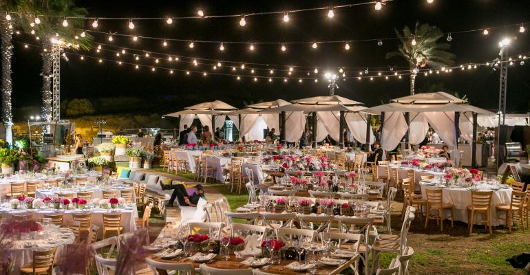 Flower Girl: KBY Designs Creates a Colorful Wedding for a Flower-loving Bride
