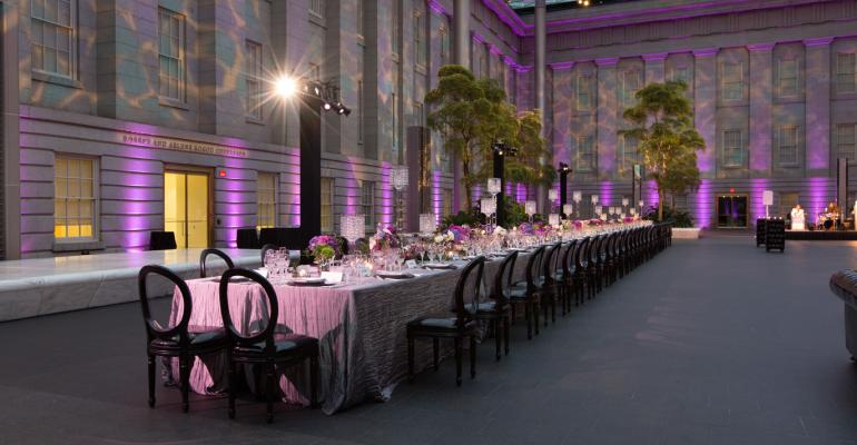 Masterpiece Meal: MGM Resorts Events Creates an Intimate Museum Dinner