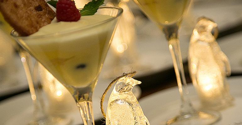 Penguin dessert
