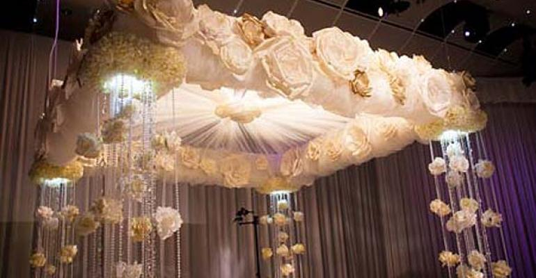 Roses and Romance: Paper Roses Bloom at an Utterly Elegant Denver Wedding